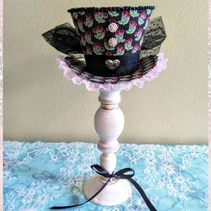 Cherry Hat centerpiece or cake topper